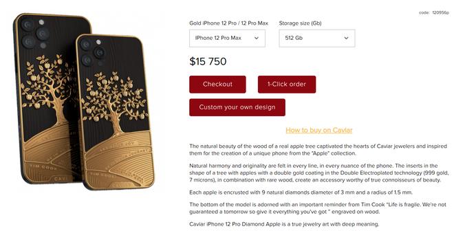 iPhone mạ vàng 18k của Vũ Khắc Tiệp tưởng đã xịn xò, nhưng vẫn chưa là gì nếu so với chiếc iPhone ốp gỗ táo, nạm kim cương, giá trăm triệu này! - ảnh 4