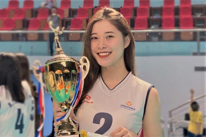 Thực hư thông tin Hoa khôi bóng chuyền 19 tuổi Đặng Thu Huyền giải nghệ - ảnh 1