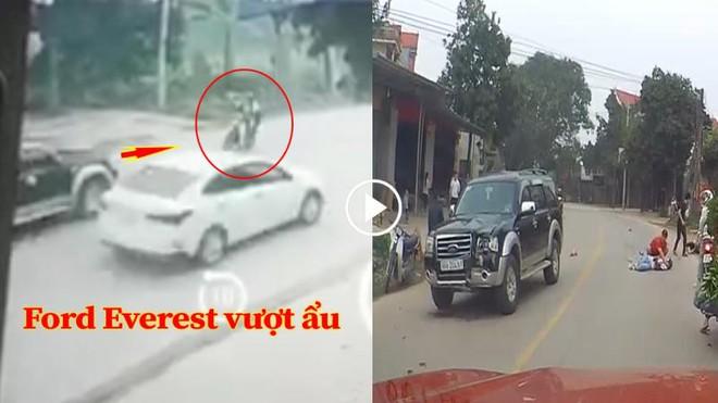 Bắc Giang: 2 nữ sinh bị xế hộp lấn làn, vượt ẩu tông trực diện khiến cả người và xe hất tung lên cao - ảnh 2