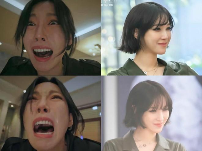 Lú cực mạnh: Đây là cặp địch thủ Penthouse Kim So Yeon - Lee Ji Ah hay 2 chị đẹp Taeyeon - Tiffany SNSD đi lạc? - ảnh 1
