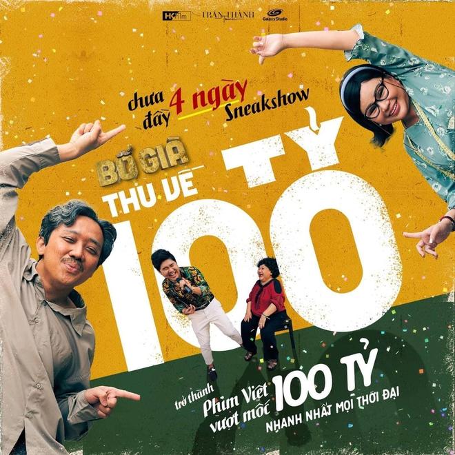 Chưa được 4 ngày, Bố Già đã cán mốc 100 tỷ, lập luôn kỷ lục chấn động màn ảnh Việt! - ảnh 2