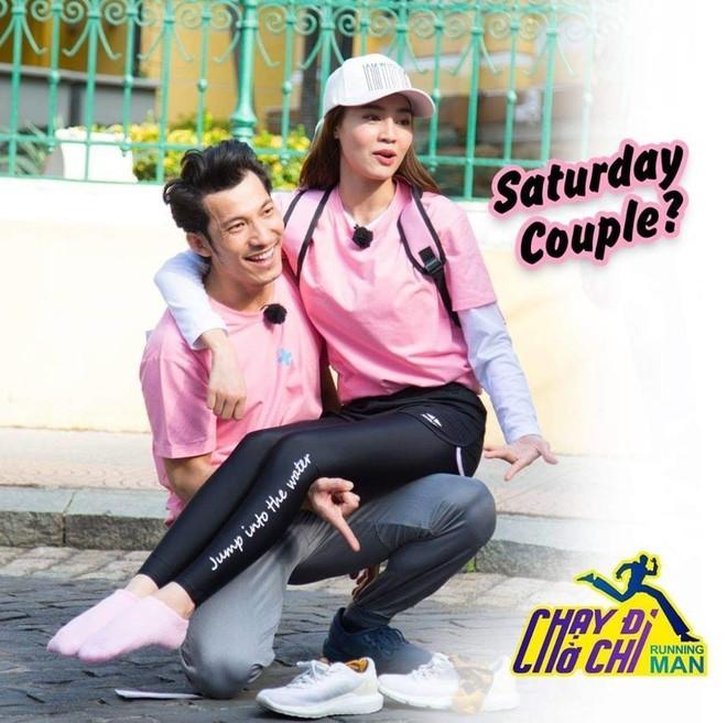 Thuý Ngân - Trương Thế Vinh sẽ có loveline cực hot tại Running Man Việt 001