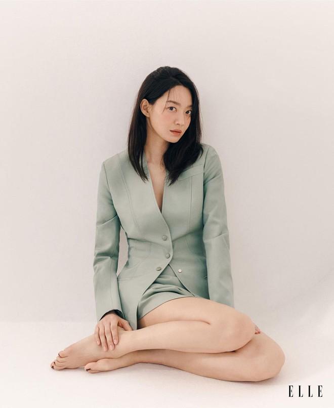 Mặt tròn khác biệt, bạn gái tài tử Woo Bin đã để 4 kiểu tóc này để nhan sắc luôn đẹp đỉnh cao - ảnh 12