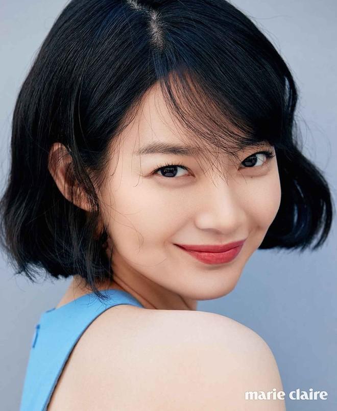 Mặt tròn khác biệt, bạn gái tài tử Woo Bin đã để 4 kiểu tóc này để nhan sắc luôn đẹp đỉnh cao - ảnh 14