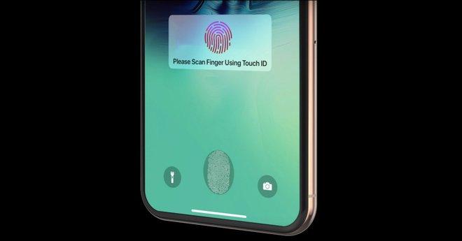 iPhone 13 sẽ có Touch ID ẩn dưới màn hình? - ảnh 1