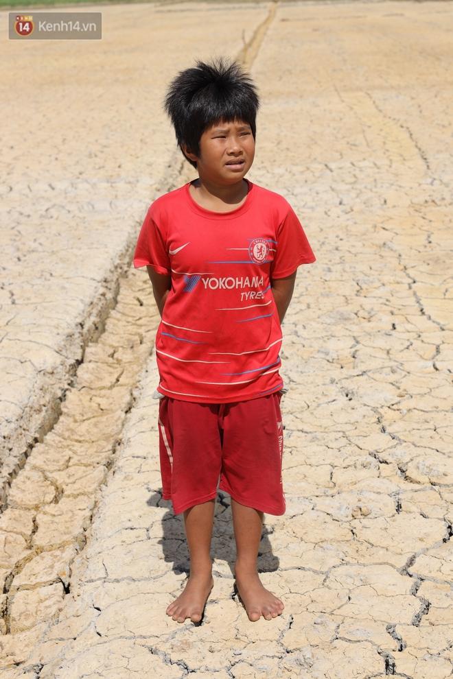 Người miền Tây bên những cánh đồng nứt toác vì hạn mặn: Lúa trồng xuống là chết, nước sông mặn đắng cả rồi! - ảnh 7