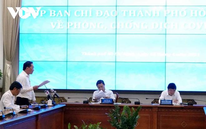 """Chủ tịch TPHCM: """"Nguy cơ Covid-19 xâm nhập trở lại TPHCM rất cao"""" - ảnh 1"""