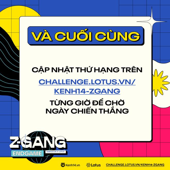 ZGang Endgame: Đây là cách tham gia cuộc thi giúp các homie chinh chiến, ẵm giải thưởng khủng! - ảnh 4