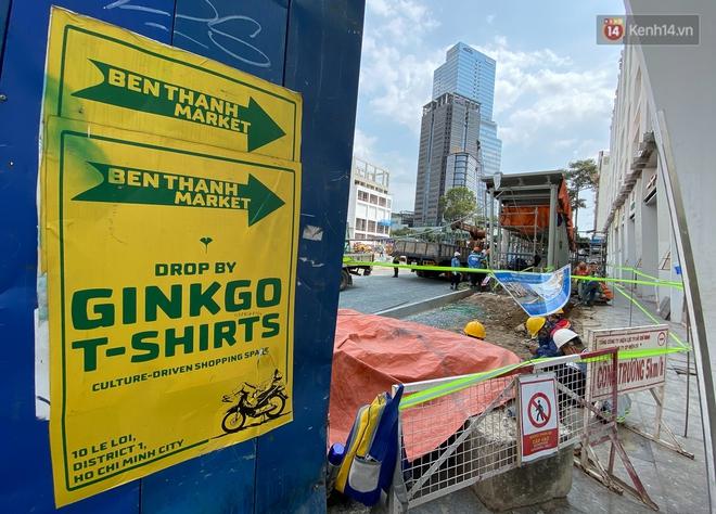 Một phần rào chắn Metro tại đất vàng trung tâm Sài Gòn được tháo dỡ, quán xá rục rịch khai trương trở lại - ảnh 13