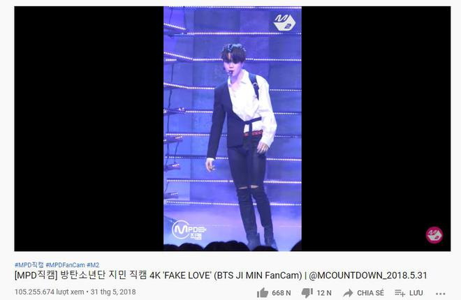 BTS chiếm trọn top fancam trên 10 triệu views M!Countdown, chỉ 1 nữ idol lọt top nhưng lại chẳng phải BLACKPINK - Ảnh 4.
