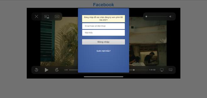 Link xem phim Bố Già đang tràn ngập Facebook, cẩn thận bị hack tài khoản! - ảnh 3