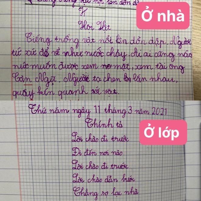 Học trò lớp 1 trổ tài làm bài tập tiếng Việt siêu lầy, đến giáo viên cũng phải thốt lên: Cười tắc thở mất! Đi dạy như tấu hài - ảnh 1