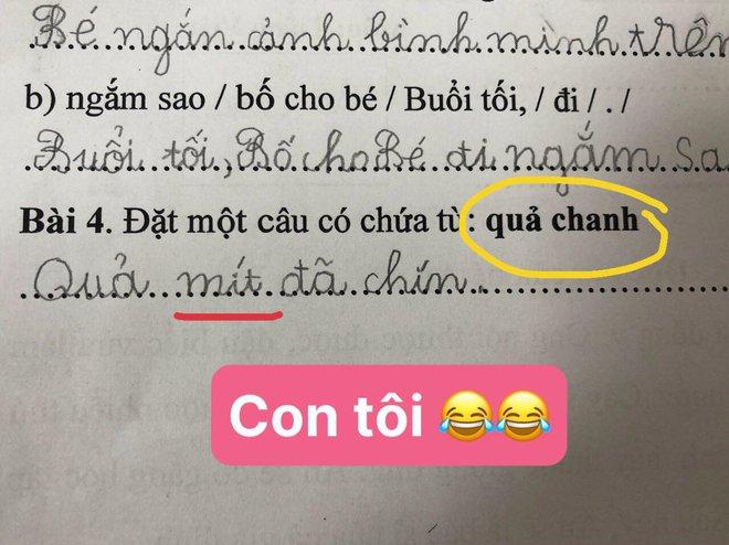 Học trò lớp 1 trổ tài làm bài tập tiếng Việt siêu lầy, đến giáo viên cũng phải thốt lên: Cười tắc thở mất! Đi dạy như tấu hài - ảnh 2