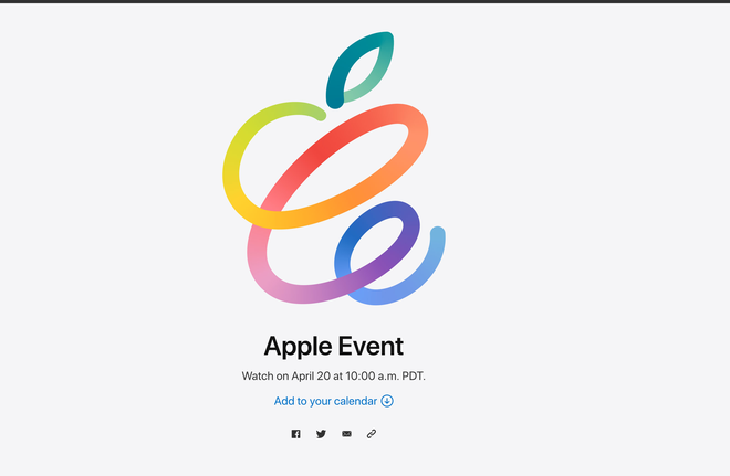 Apple chính thức công bố sự kiện đầu tiên của năm 2021, liệu sẽ có một chiếc iPhone mới? - ảnh 1
