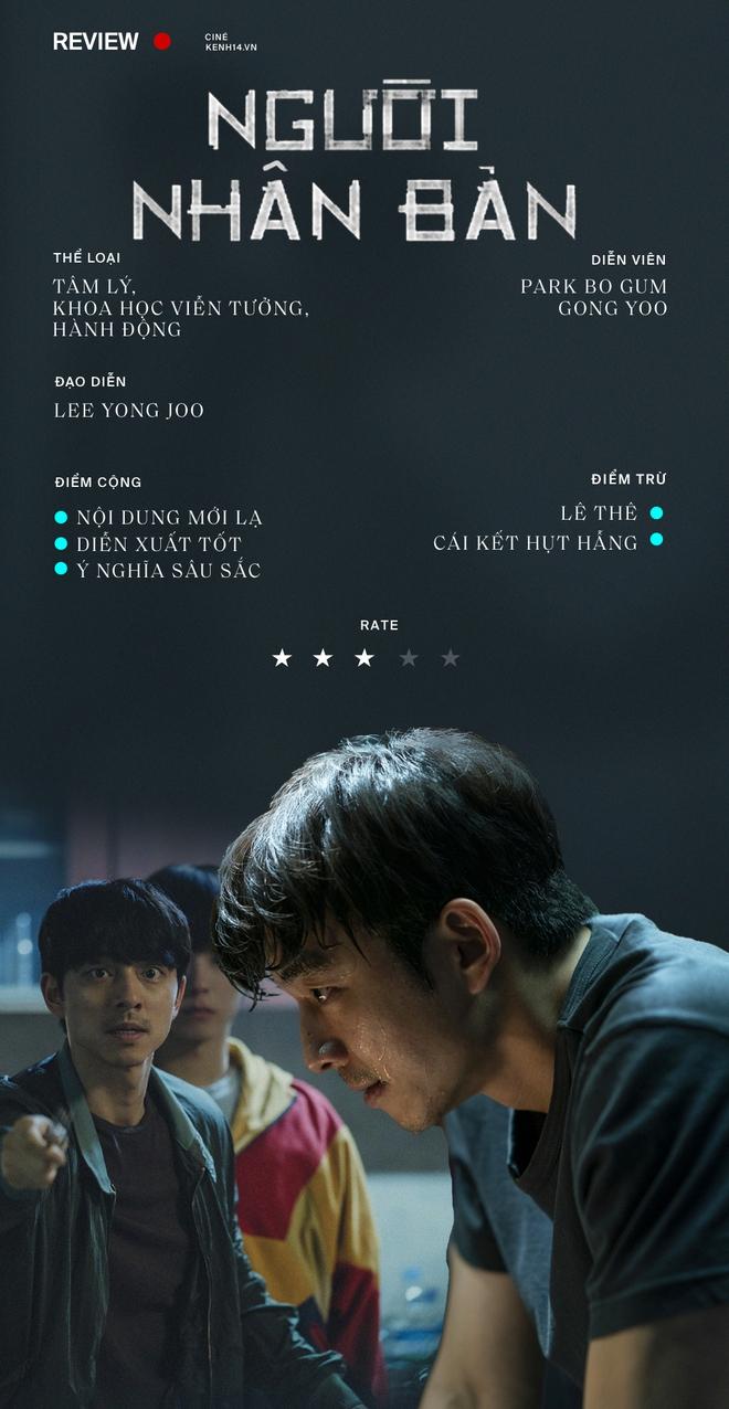 Người Nhân Bản: Gong Yoo và Park Bo Gum cũng không thể làm nên mùa xuân? - ảnh 11