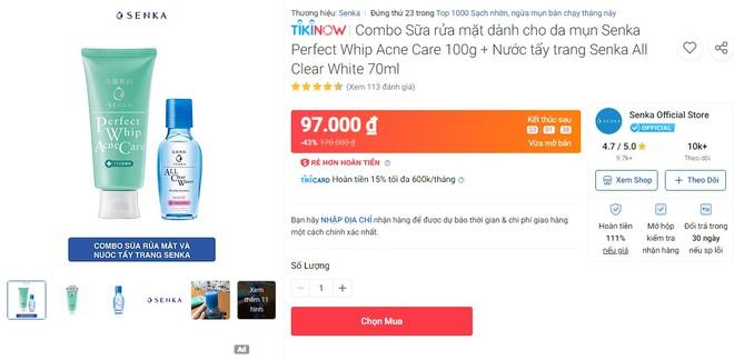 Deal mỹ phẩm hot nhất hôm nay trên Shopee, Lazada, Tiki: Set skincare sale 50%, mặt nạ mua 1 tặng 1 - ảnh 16