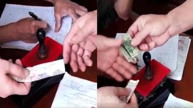 Trưởng Công an xã bị đình chỉ để làm rõ trách nhiệm thu sai lệ phí làm căn cước gắn chip - ảnh 1