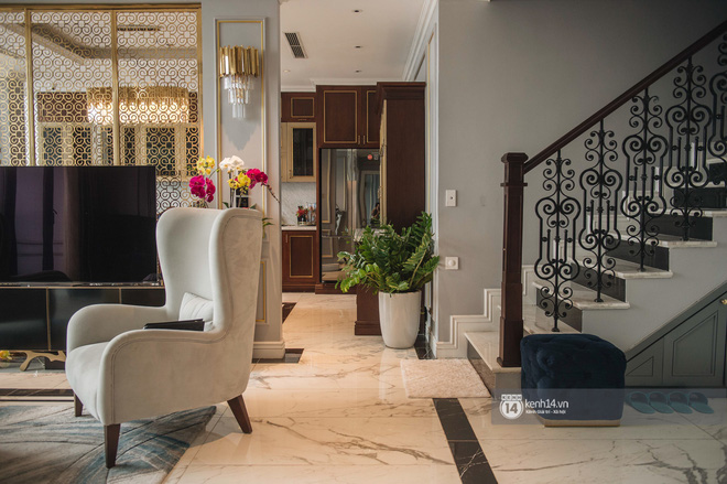 Duplex 28 tỷ ở Vinhomes Metropolis của doanh nhân Hà Nội: Một ngôi nhà đẹp không nhất thiết phải đầu tư nhiều tiền - Ảnh 4.