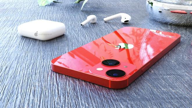 iPhone 13 tiếp tục lộ concept thiết kế mới, tai thỏ bé tẹo và camera khác biệt - ảnh 2