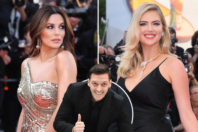 Chán bóng bánh, Mesut Oezil đá cặp cùng 2 nữ minh tinh Hollywood tính thâu tóm CLB danh tiếng Mexico - ảnh 2