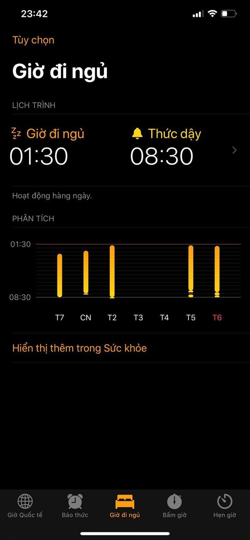 Cần gì crush, iPhone sẽ nhắc bạn đi ngủ và gọi bạn dậy cực kỳ đúng giờ - ảnh 1