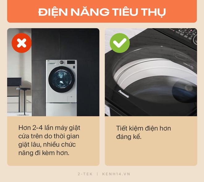 Máy giặt cửa trước và cửa trên khác nhau như thế nào? Hãy tìm hiểu rõ trước khi xuống tiền chốt đơn - Ảnh 2.