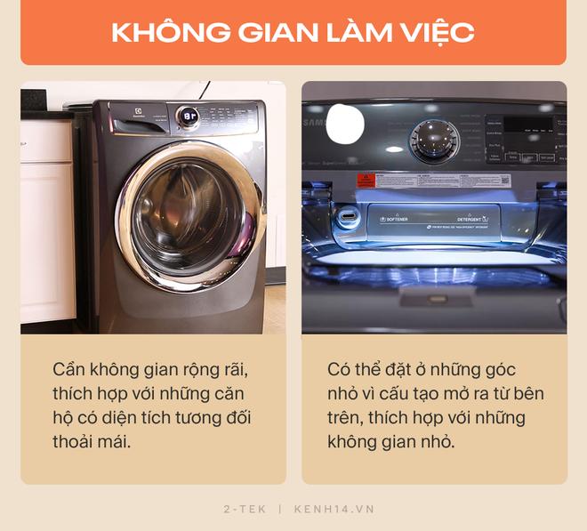 Máy giặt cửa trước và cửa trên khác nhau như thế nào? Hãy tìm hiểu rõ trước khi xuống tiền chốt đơn - Ảnh 8.