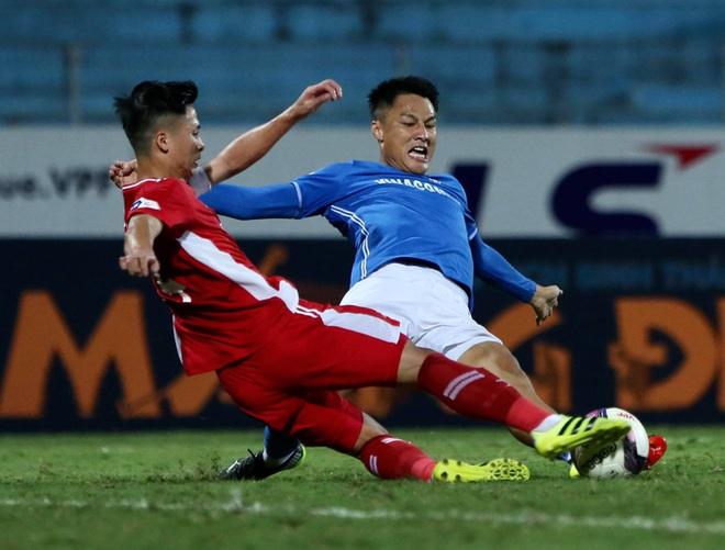 Cơn lốc đỏ Viettel giành chiến thắng 2-1 gay cấn trước CLB Quảng Ninh - ảnh 9