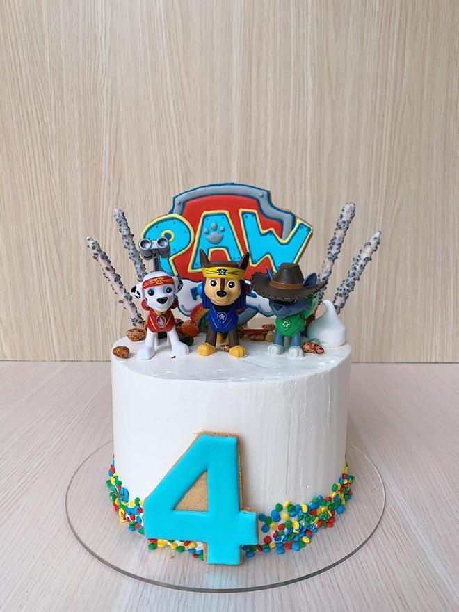 Đến hẹn lại lên, Hà Tăng vào bếp làm bánh tặng sinh nhật con trai, chỉ qua một chi tiết đã thấy chiều quý tử cỡ nào! - Ảnh 4.