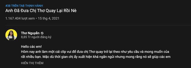 Thơ Nguyễn chính thức trở lại trên kênh YouTube 9 triệu subscriber của chính mình, có rườm rà quá không? - ảnh 2