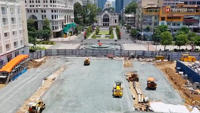 Một phần rào chắn Metro tại đất vàng trung tâm Sài Gòn được tháo dỡ, quán xá rục rịch khai trương trở lại - ảnh 17