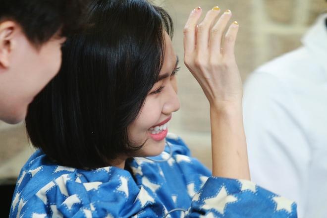 Diệu Nhi nhiệt huyết hát hit SNSD trước mặt trai đẹp Produce X 101 - ảnh 5