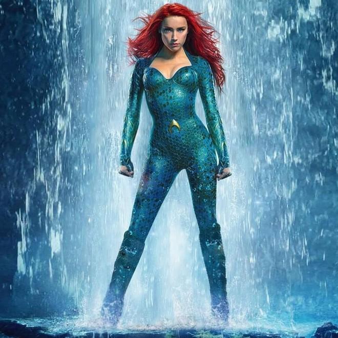 Bị chồng cũ tố ngược, Amber Heard vẫn quay Aquaman 2 làm netizen tức giận: Công bằng cho Johnny Depp ở đâu? - ảnh 2