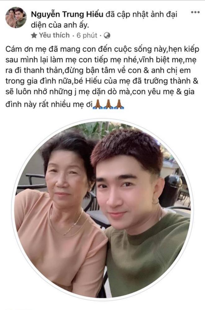 Chi Dân xót xa thông báo mẹ ruột qua đời, Ninh Dương Lan Ngọc và dàn sao Việt đồng loạt gửi lời chia buồn - ảnh 1