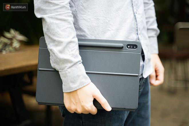 Laptop hỏng nên phải dùng tạm Galaxy Tab S7+ và đây là 6 thứ khiến tôi không muốn ''quay đầu'' - ảnh 8