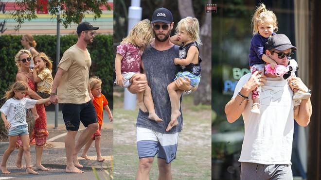 Thái cực đối lập của 2 thánh cơ bắp Hollywood khi chăm con: The Rock hóa bánh bèo, Thor lại cục súc dốc ngược cả con - ảnh 17