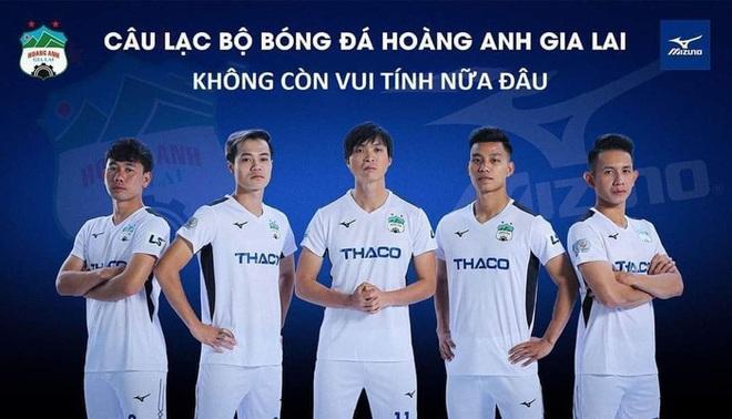 Fan HAGL chế loạt ảnh cà khịa Hà Nội FC sau trận đấu trên sân Pleiku - ảnh 6