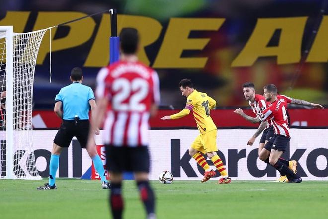 Messi lập cú đúp, Barca vùi dập Bilbao để vô địch Cúp Nhà vua Tây Ban Nha - ảnh 7