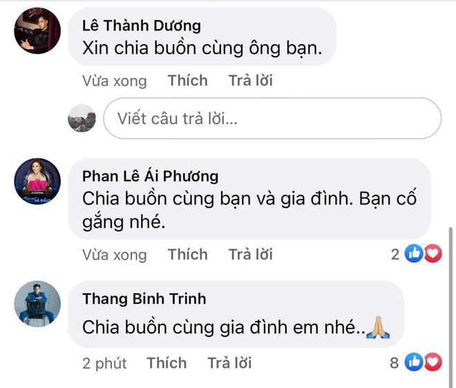 Chi Dân xót xa thông báo mẹ ruột qua đời, Ninh Dương Lan Ngọc và dàn sao Việt đồng loạt gửi lời chia buồn - ảnh 5