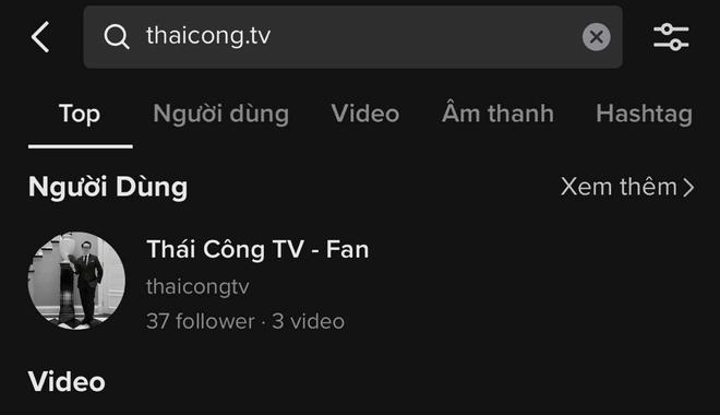 Kênh TikTok đăng clip Thái Công đi ăn bún riêu bất ngờ biến mất giữa ồn ào - ảnh 1