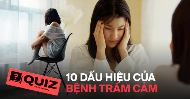 Quiz: Nữ giới có nguy cơ bị trầm cảm cao gấp đôi nam giới, liệu bạn có gặp phải 10 biểu hiện trầm cảm này hay không? - ảnh 1
