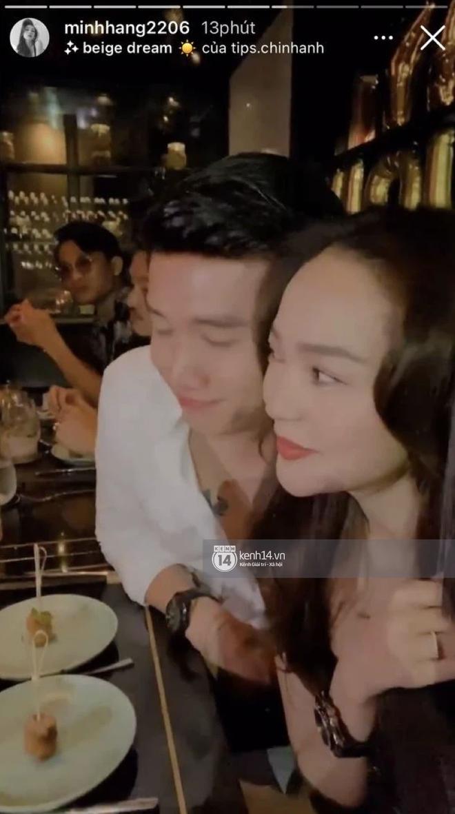 Độc Quyền: Bắt gặp Quốc Trường và Minh Hằng hẹn hò trong tiệc sinh nhật, ôm hôn công khai đến kéo nhau ra riêng 1 góc - Ảnh 12.