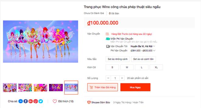 Trào lưu Winx En chan tít lấn sân sang cả Shopee, được bán với mức giá khó tin! - ảnh 2