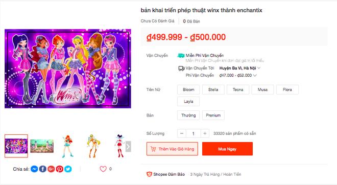 Trào lưu Winx En chan tít lấn sân sang cả Shopee, được bán với mức giá khó tin! - ảnh 3