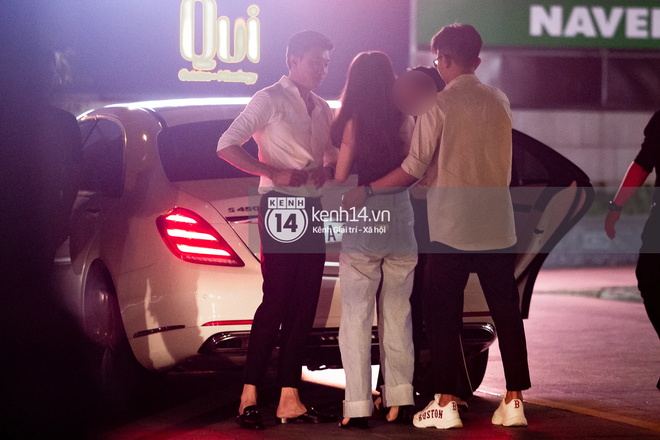 Độc Quyền: Bắt gặp Quốc Trường và Minh Hằng hẹn hò trong tiệc sinh nhật, ôm hôn công khai đến kéo nhau ra riêng 1 góc - Ảnh 9.