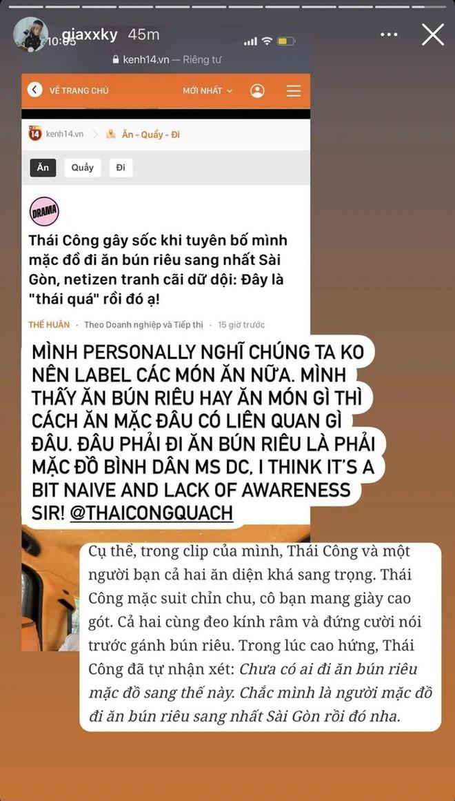 Kênh TikTok đăng clip Thái Công đi ăn bún riêu bất ngờ biến mất giữa ồn ào - ảnh 2