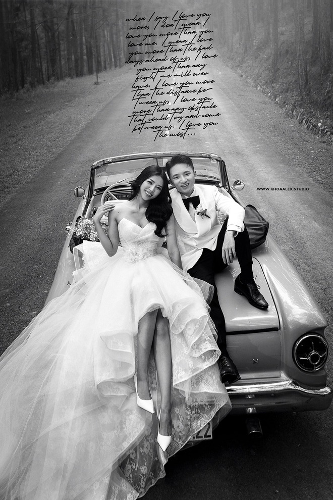 Giữa drama, Phan Mạnh Quỳnh và cô dâu hot girl bỗng lộ ảnh cưới chưa từng được công bố: Đẹp như phim thế này nhìn muốn cưới quá! - ảnh 4
