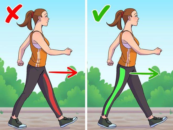 9 lỗi sai trong việc đi bộ mà 90% ai cũng mắc phải, cứ ngỡ chẳng vấn đề gì nhưng thực ra đang huỷ hoại vóc dáng và sức khoẻ của bạn - Ảnh 4.