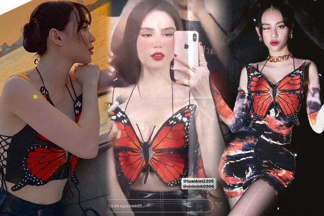 3 mỹ nhân đụng áo cánh bướm dối gian: Ngọc Trinh được khen hết lời, Phí Phương Anh - Sun Ht có còn chút spotlight? - ảnh 7