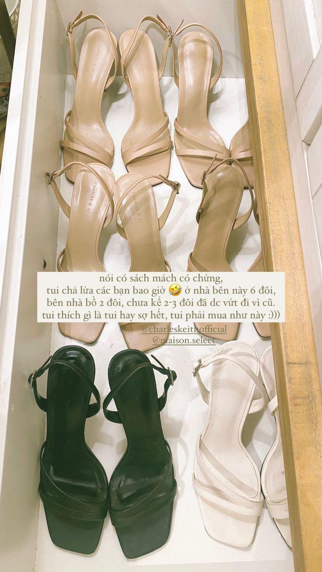 Mẫu sandals khiến Hà Trúc mê mẩn mua gần chục đôi đi dần: Chị em dễ dàng copy hoặc sắm mẫu na ná chỉ vài trăm nghìn - ảnh 2